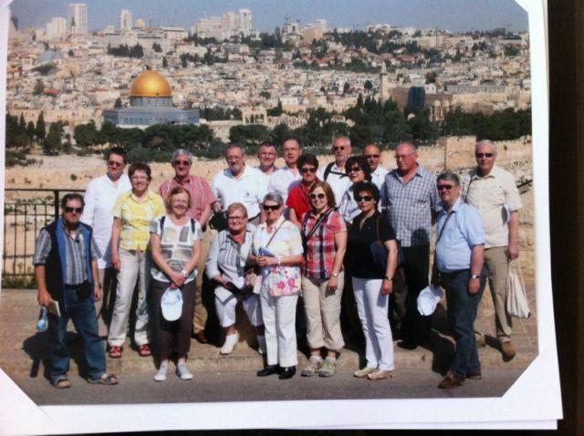 Jerusalem-Gruppenfoto