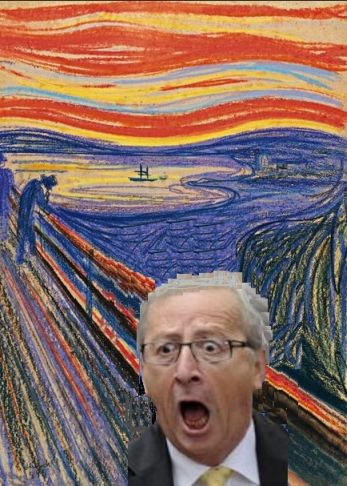 Juncker-Der Schrei