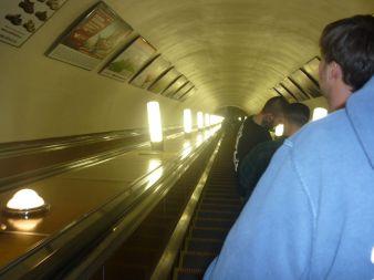 Rolltreppe/U-Bahn