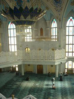 Moschee-Innenraum
