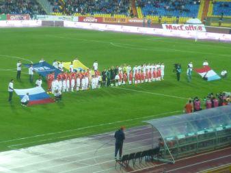 Die beiden Teams